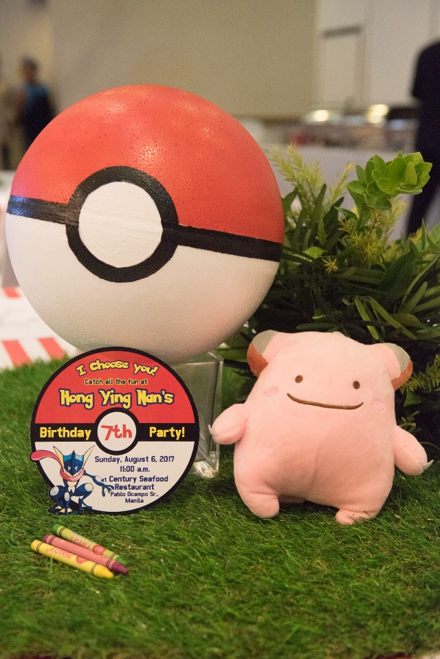pokemon party invites