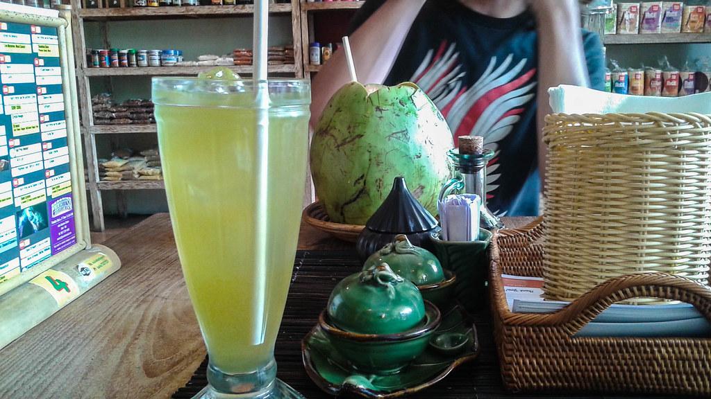 Lemon Drink and Coconut