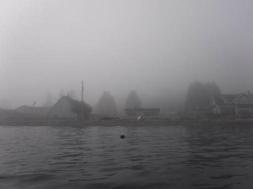 Samish Island Paddling in Fog-27