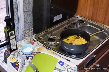 Espaguetis a la sartén