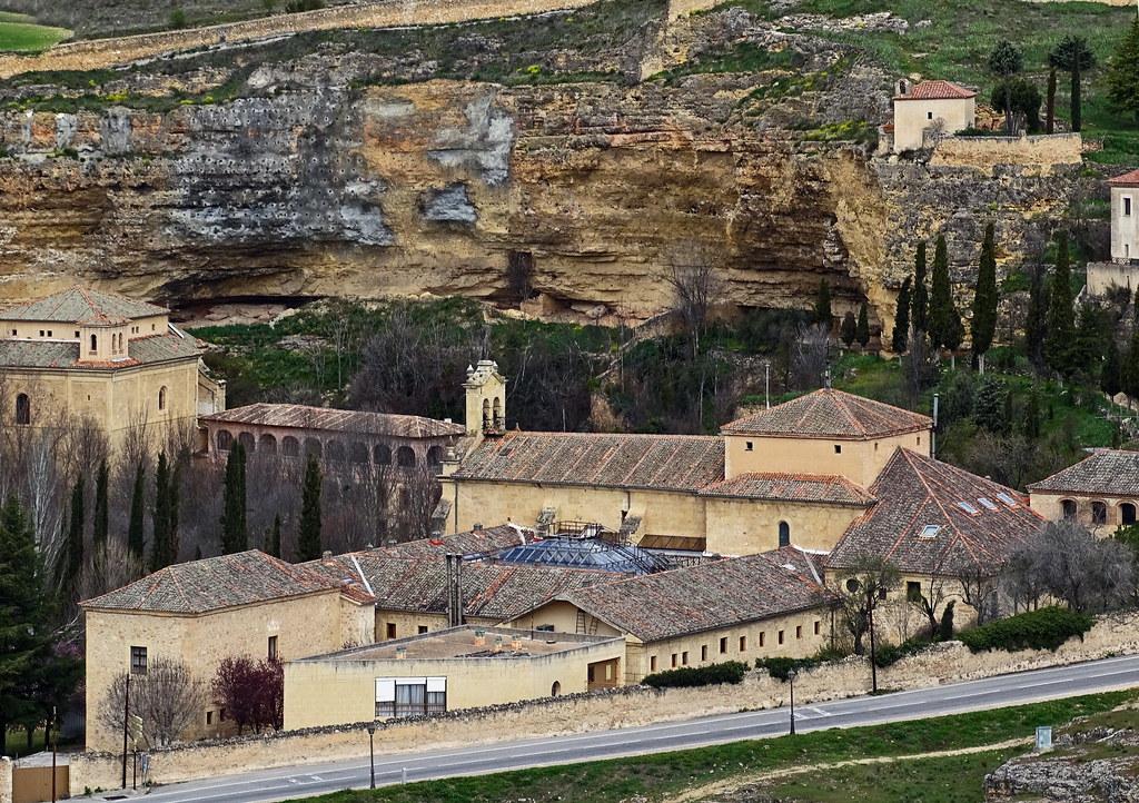 Segovia exterior Convento de San Juan de la Cruz de la Orden de los Carmelitas Descalzos