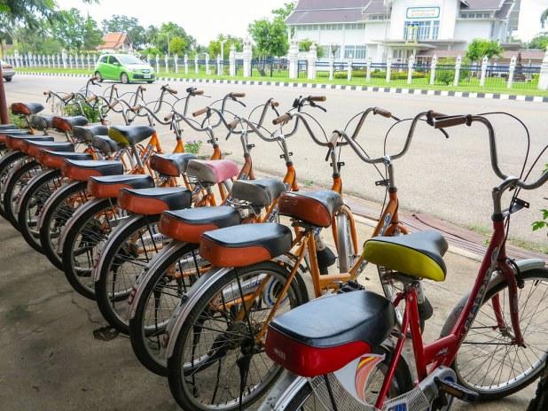 Alquilar bicicletas en Sukhothai