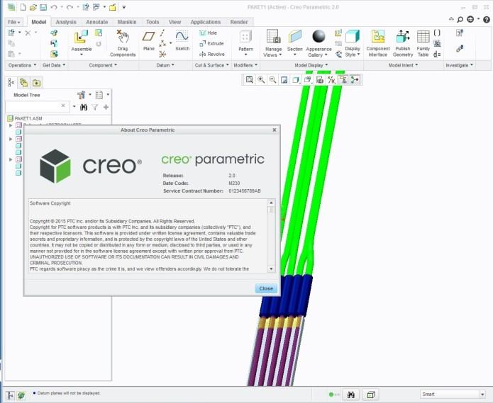 Design with Phần mềm PTC Creo 2.0 M230 x86 x64 full license