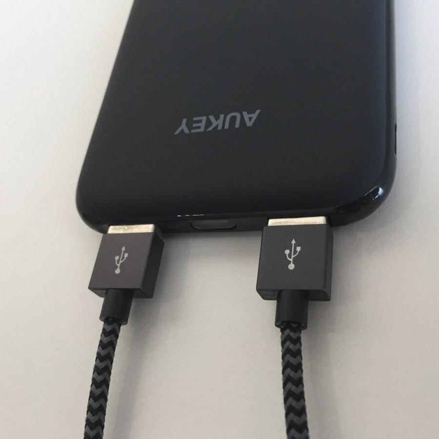Test de la batterie 10000 mAh Aukey PB-N51 11