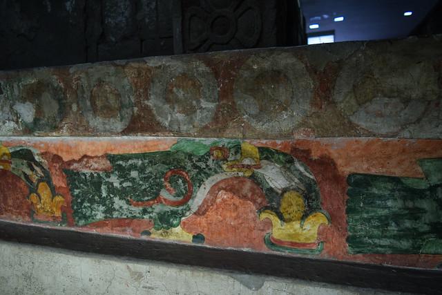 Original Mural at Palacio de Quetzalpapalotl