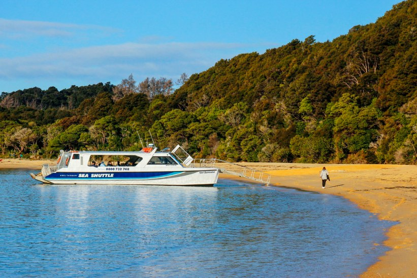 Sea shuttle Abel Tasman