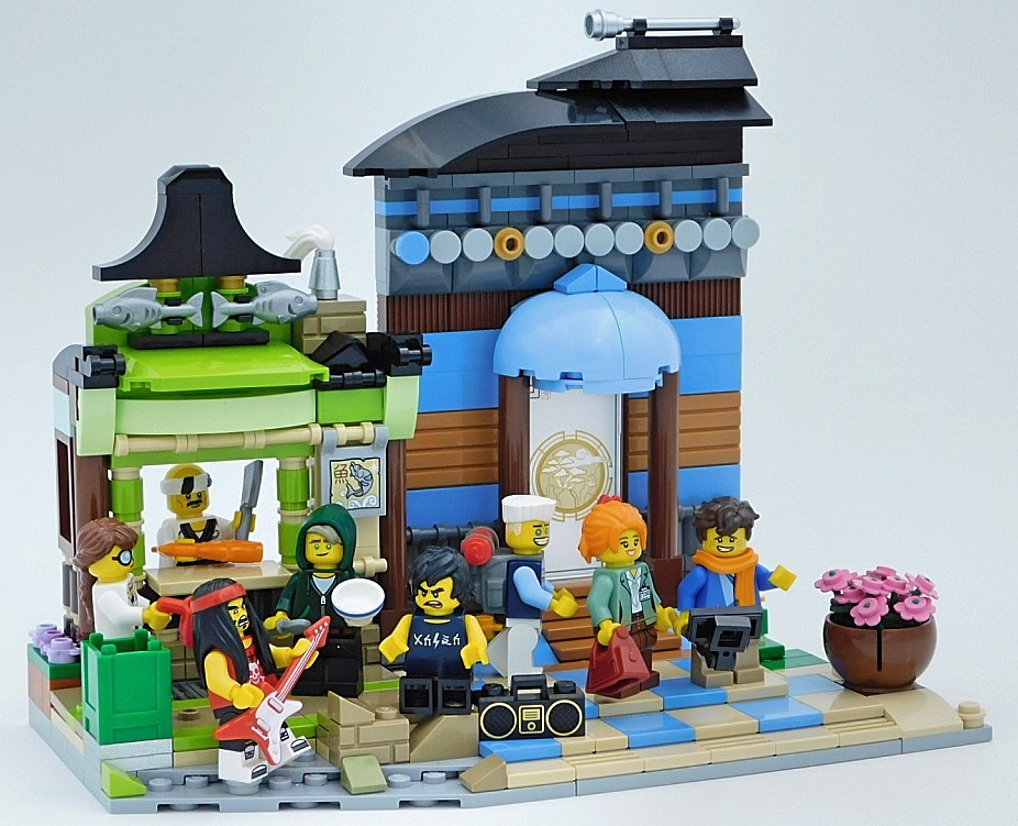 Ninjago City Suburb