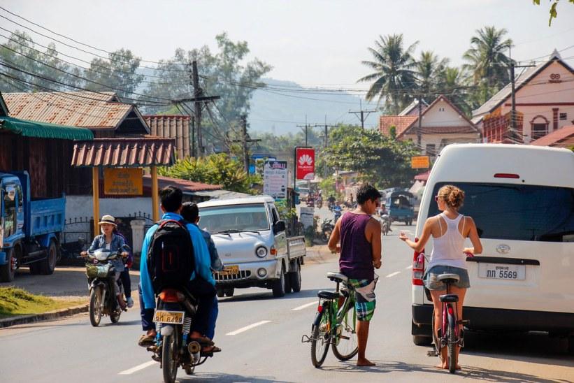 lej cykler i Luang Prabang Laos