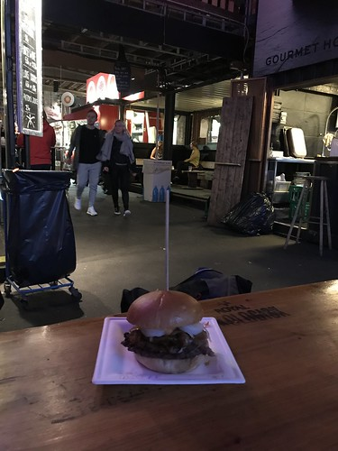 The best ostrich burger in Copenhagen