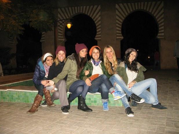 Viaje a Marrakech con las chicas