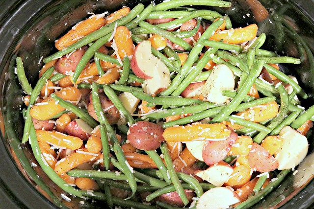 Garlic Parm Veggies Top