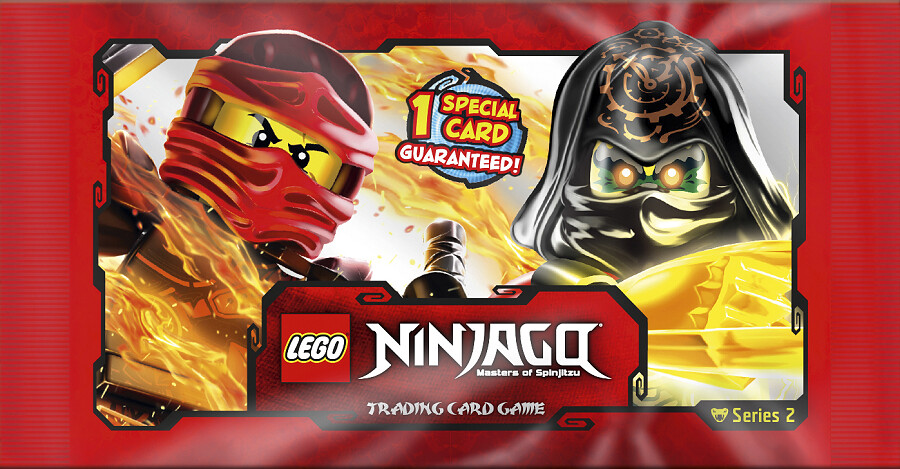 Ninjago Trading Cards series 2 available in the UK
