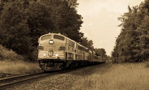 CP 150 Train just past Port Elmsley