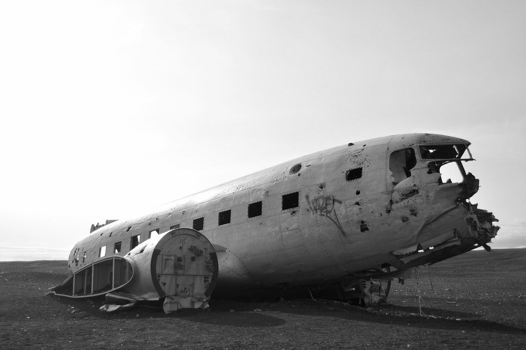 Iceland plane wreck