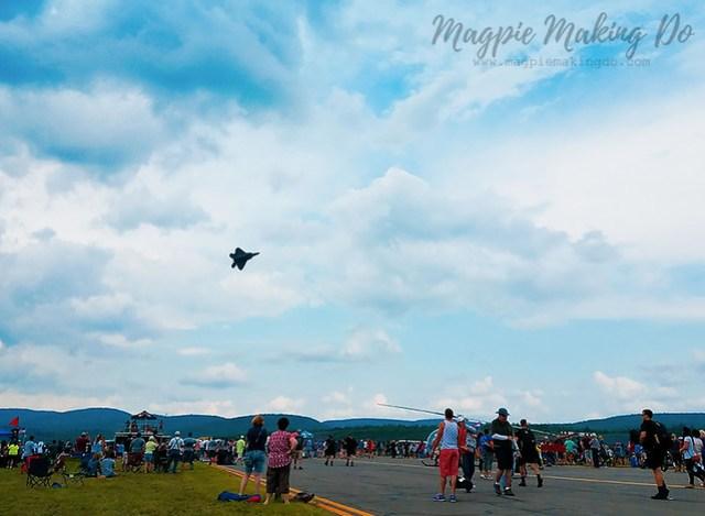 Air show f22