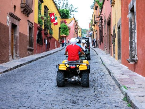 Tour en Quad por San Miguel de Allende