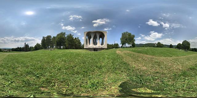 Monument on Freedom Hill - Ilirska Bistrica - 360°