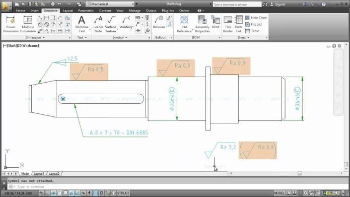 Phần mềm autocad mechanical 2013 full