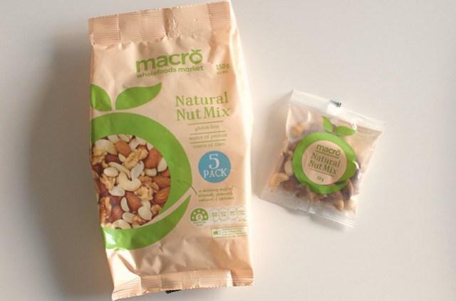 Macro Natural Mixed Nuts