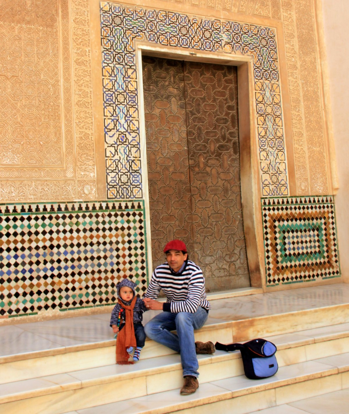 The stunning alhambra in granada