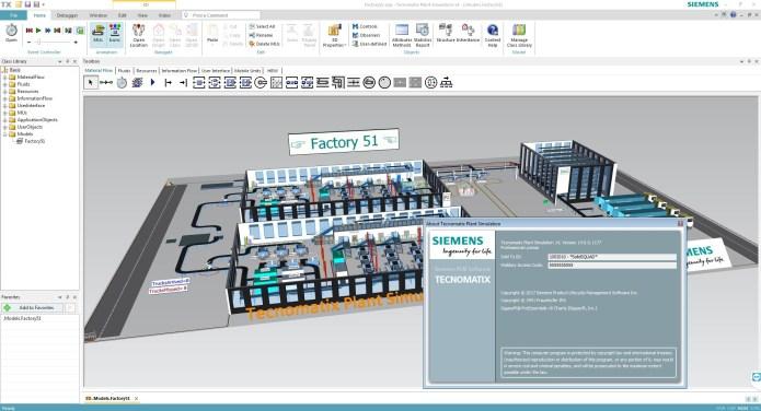 Factory simulation with Siemens Tecnomatix Plant Simulation 14.0 full license