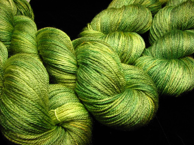 Tallgrass Prairie - July 2017 Tiger Sock Yarn Club - Merino Tencel