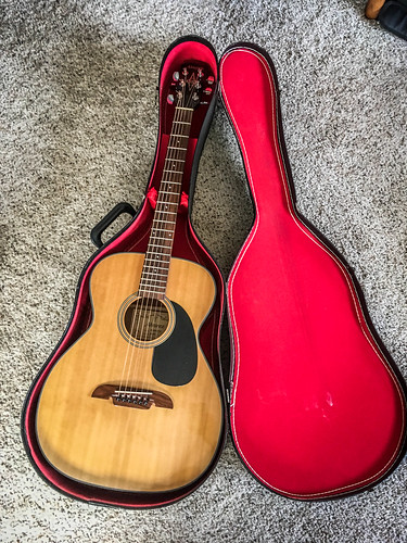 New(ish) Alvarez Guitar