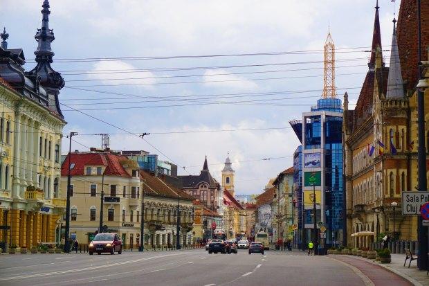 Postcard from Cluj, King Ferdinand Street