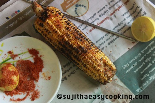 Sweetcorn with Lemon and chilli3