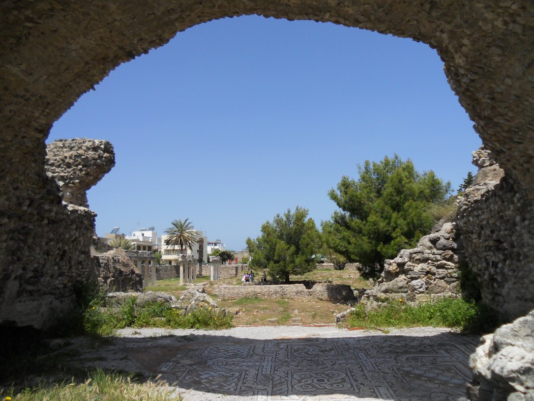 Kos's western archaeological site