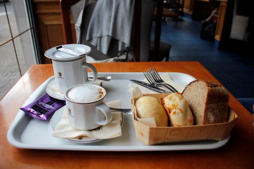 en god bager i Gdansk, Polen