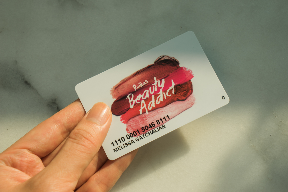 Rustan's Beauty Addict Card