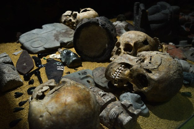 Skulls and Bones at Templo Mayor