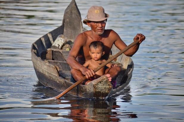 Lago en Siem Reap