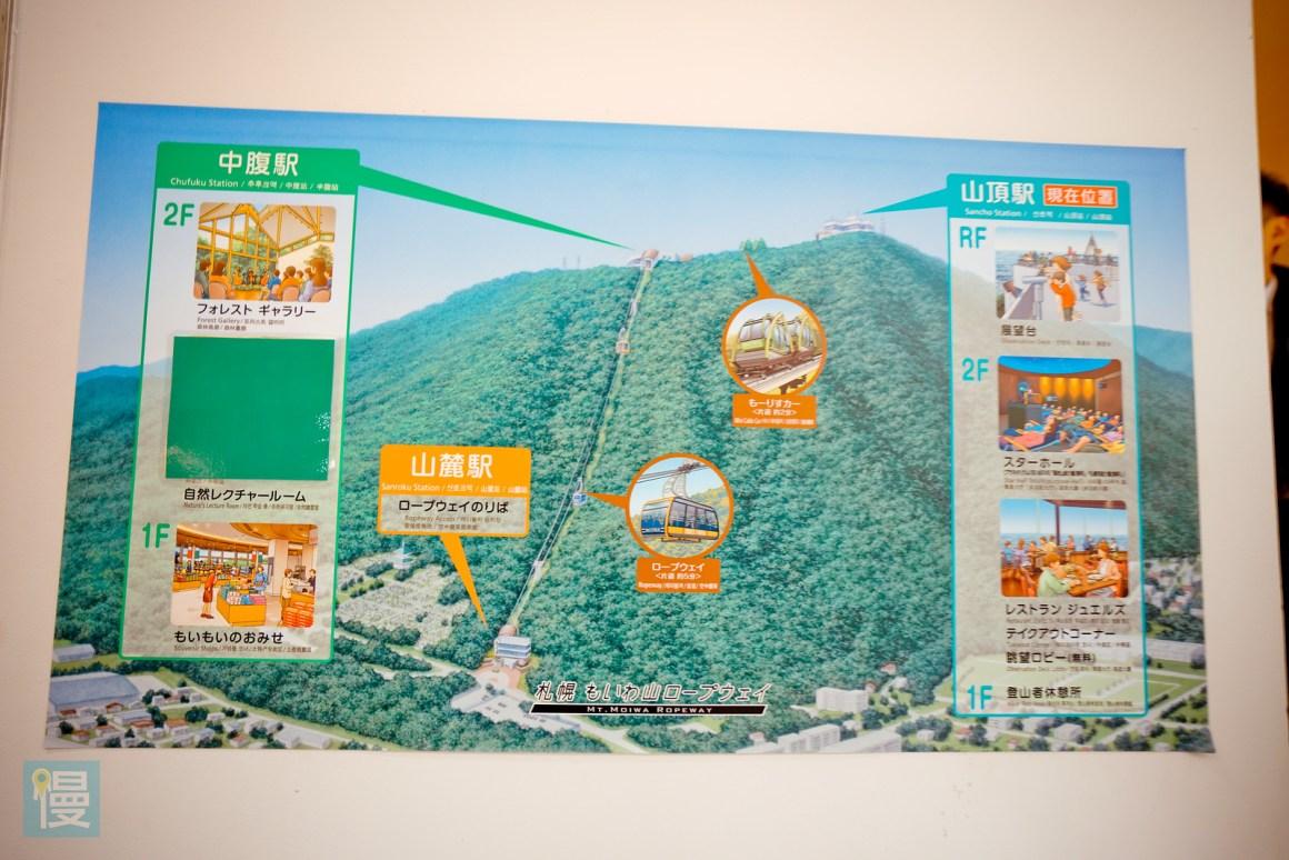 札幌藻岩山展望台夜景-74