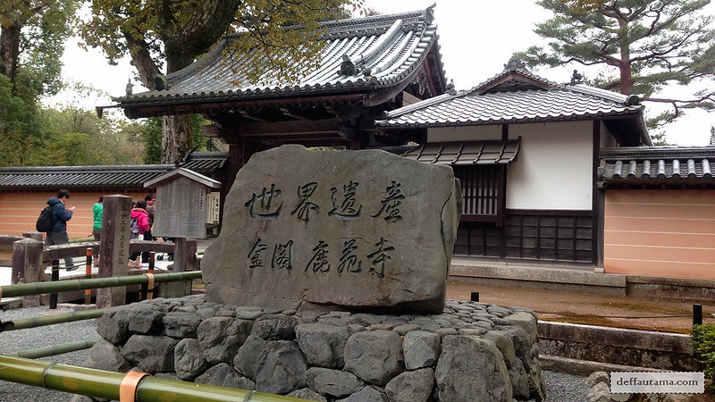 3 Hari Keliling Kyoto - Kinkakuji Temple 1