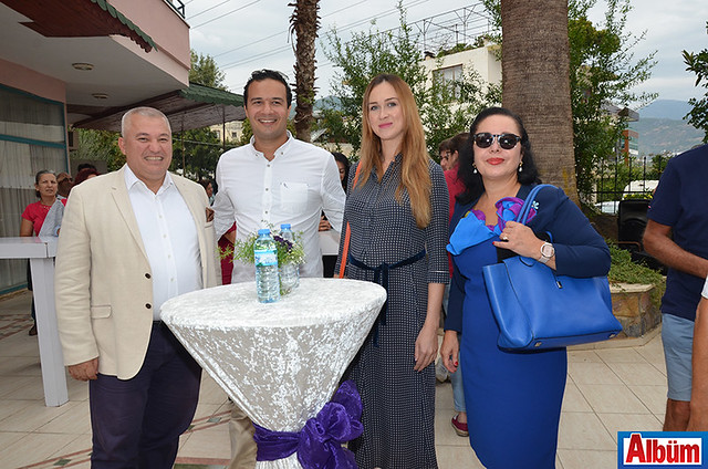 Mehmet Şahin, Yağız Tüzün, Anna Tüzün, Dr. Ayla Tüzün
