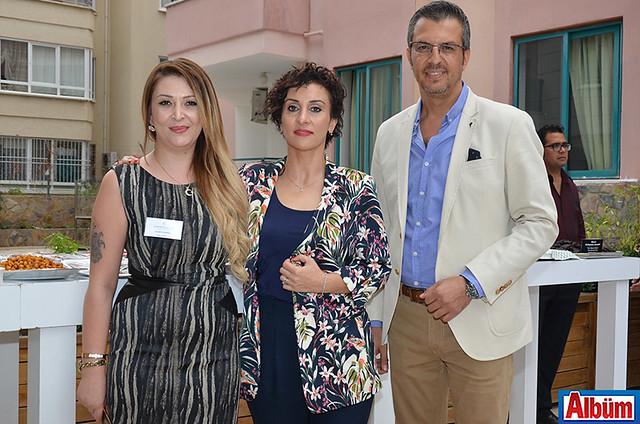 Kadriye Burak, Dr. Esra Yiğit, Dr. Tahsin Biner