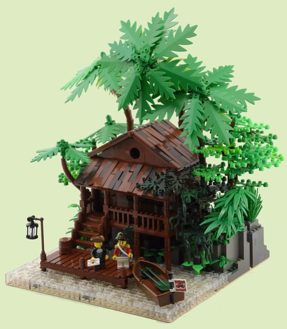 Post Office, Camp Isaac, Jungle