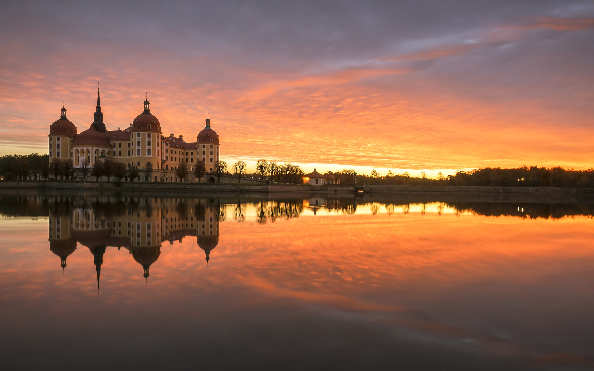 Castle Moritzburg - Germany - Sunrise