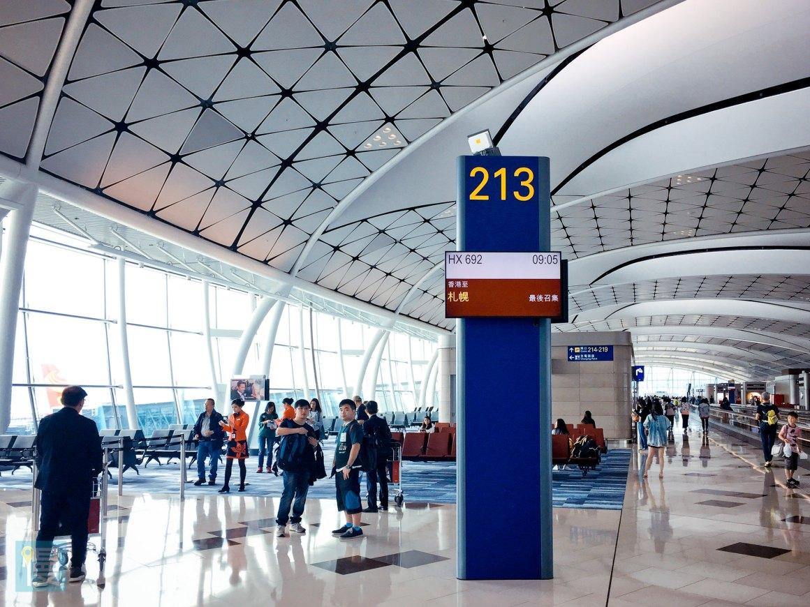 香港航空商務艙香港─札幌航線-10