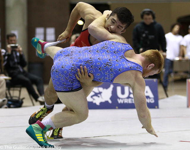 Finals FS 74 KG - Isaiah Martinez IRTC over Chance Marsteller TMWC dec. 8-6 - 171008mk0149