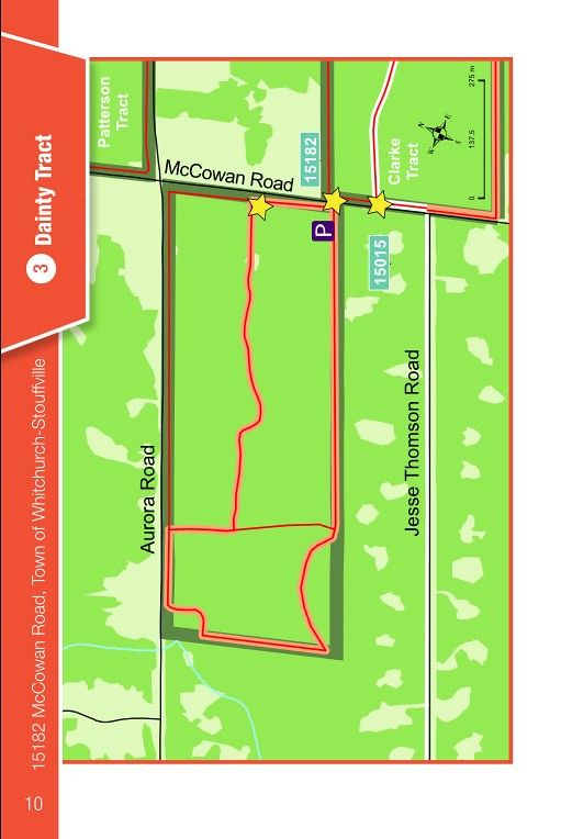 YRF Dainty Tract Map