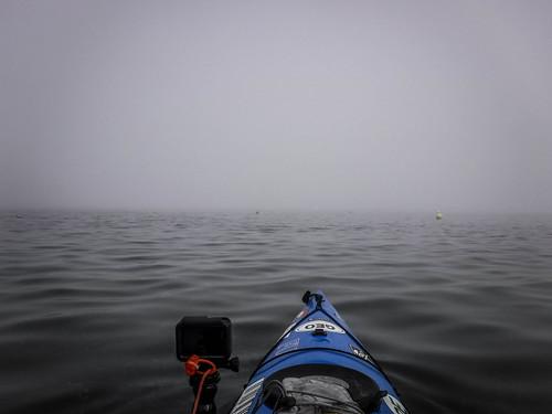 Samish Island Paddling in Fog-26