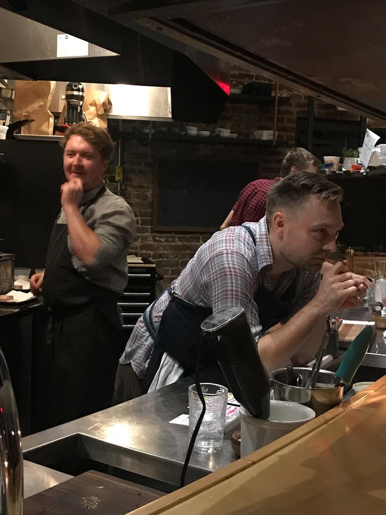 Trevor Moran and Josh Habiger at Bastion Nashville