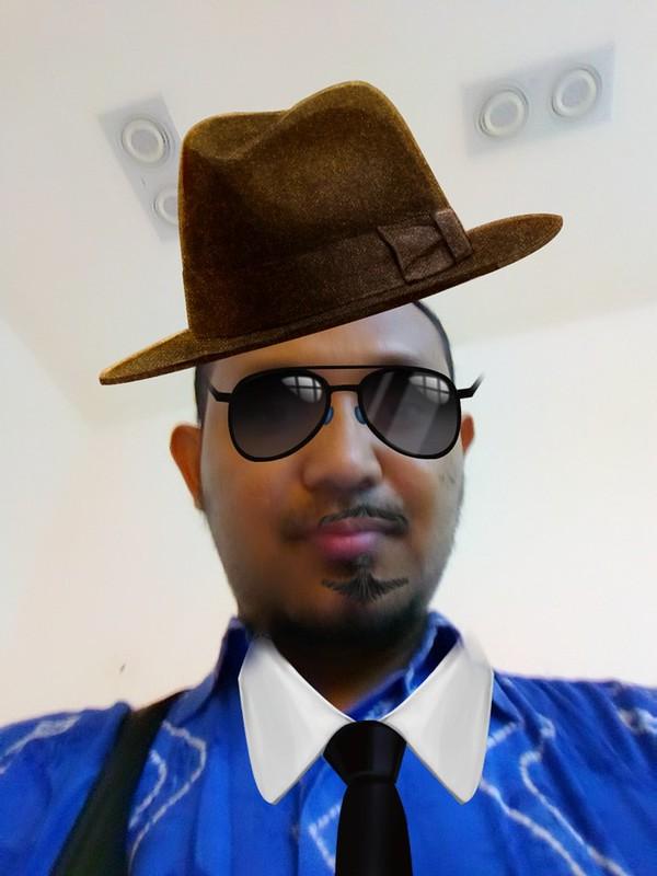 Selfie dengan fitur Vancam