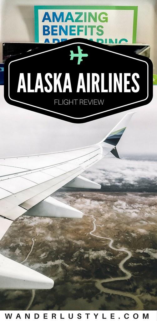 Flight Review: Alaska Airlines | Wanderlustyle.com