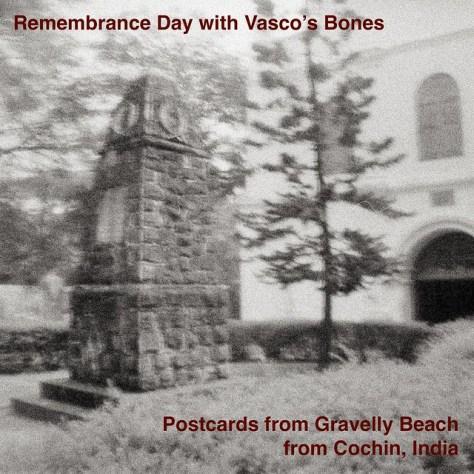 Remembrance Day with Vasco's Bones