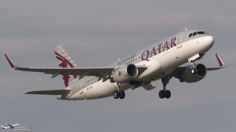 A7-LAC A320SL QATAR
