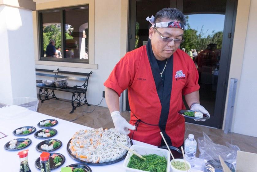 Sushi, Laishley Crab House, Chef Sun - Punta Gorda Restaurant Week 2017 - Launch Party, Oct. 26, 2017